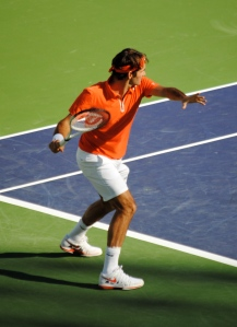 There's never been a tennis player as graceful as Federer